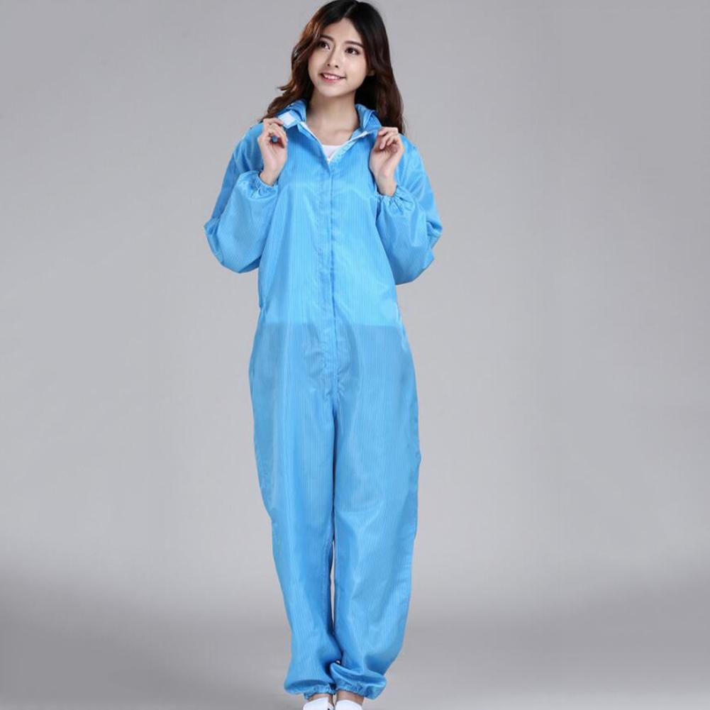 Unisex Sanitary Protection Jumpsuit Anti-static  Protective Coveralls Safely Security Protection Clothes Dust-proof Clothing