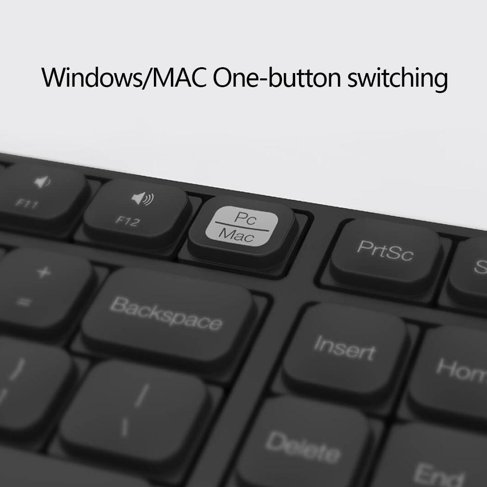 Image 2 - Original MIIIW Wireless Office Keyboard & Mouse Set 104 Keys 2.4GHz Windows PC MAC Compatible Portable USB KeyboardKeyboard Mouse Combos   - AliExpress