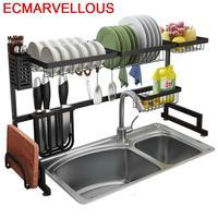 Cosinha Malzemeleri Especias Sponge Holder Sink Organizer Stainless Steel Organizador Cozinha Cocina Mutfak Kitchen Rack