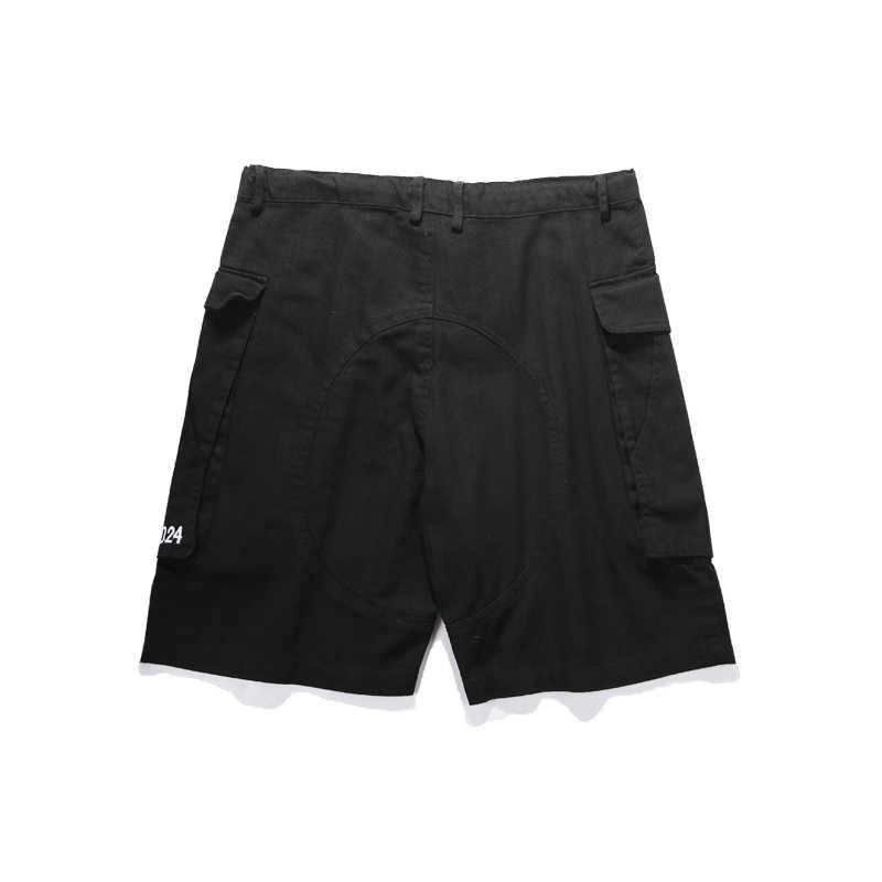 VIISHOW 2018 moda erkek kargo şort gevşek İpli pamuk mens kısa pantolon bermuda masculina casual Şort Erkek KD1597182