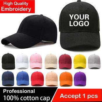 Niestandardowe haftowane czapki baseballowe dla mężczyzn kobieta kapelusz własne Logo czapka męska Snapback haft drukuj tekst projektant centrum czapka z daszkiem tanie i dobre opinie NoEnName_Null Wielofunkcyjne Cztery pory roku Stałe Adult CN (pochodzenie) COTTON CASUAL Unisex Na co dzień Adjustable