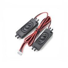 SOTAMIA 2 sztuk audio tv Mini głośnik sterownik 8 Ohm 2W głośnik DIY maszyna reklamowa głośnik komputer do kina domowego