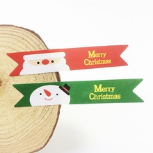 120 Pcs/lot New Snowman Old Man Merry Christmas Seal Sticker Snowman&Santa DIY Note Gift Labels Decration Scrapbooking