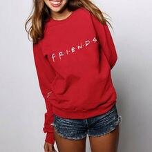 Womens Mens Hoodie Sweatshirt FRIENDS Print Hoody