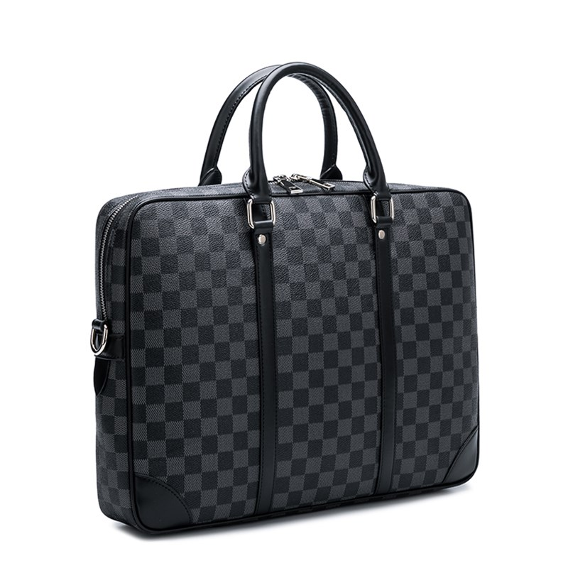 Luxury Business Handbags Europe And The United States Fashion New Men's Briefcase Laptop Bag Pu Leather Shoulder Messenger Bag