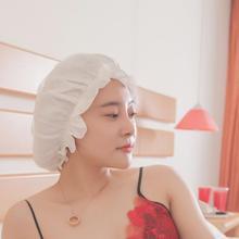Женская шелковая ночная шапочка для сна, шапочка для волос, головной убор, кружевная атласная широкая регулируемая резинка, ночная шапка высокого качества
