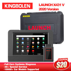 LAUNCH X431 V 8'' EOBD/OBD2 Diagnostic Tool 2 years free Upgrade DBScar 15+ Special reset X-431 Pro MINI Auto scanner ECU Coding
