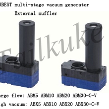 85kPa Vacuum Generator 1PCS NEW ABM20-B Pneumatic Mini Vacuum Pump Max Vacuum