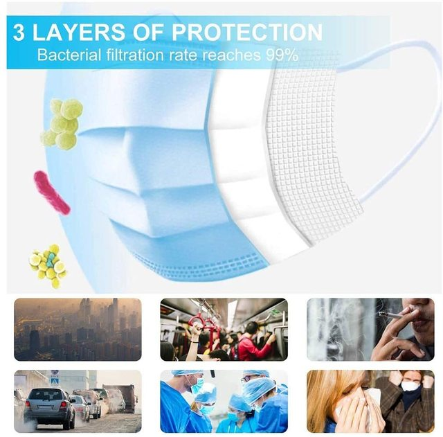 100PCS In stock mouth mask Cotton Anti Dust Mask Mouth Windproof Mouth-muffle Bacteria Proof Flu Face Masks 1
