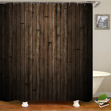 цена на Vintage gray old waterproof fabric polyester shower bathroom curtain bathroom curtain shower curtain