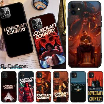 Jomy Horror TV Series lovecraft country Phone Case For iphone 12 pro max 11 pro XS MAX 8 7 6 6S Plus X 5S SE 2020 XR case image