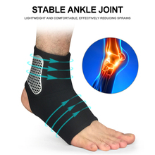 Sports Ankle Support for Football Basketball Badminton Sport Protection Bandage Elastic Ankle Sprain Brace Guard Protector 1pcs ankle support brace stirrup sprain stabilizer guard ankle sprain aluminum splint