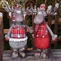 Рождественские украшения для дерева выдвижной Лось игрушка