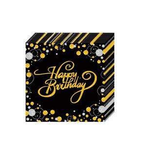 Image 4 - Ballons de table jetable pour anniversaire, banderole, fournitures décoratives pour fête du 30e, 40e, 50e anniversaire, banderole