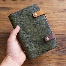 Винтажный блокнот ручной работы из натуральной кожи ретро дневник
