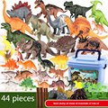 kids Pretend Play Jurassic Park Dinosaur Toys Model Dragon Toy Set for Boys Animal Figure For boy Birthday Gifts