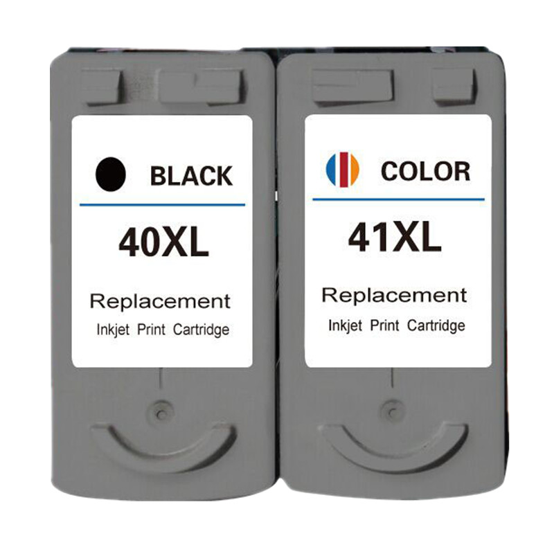 Ink Cartridge PG40 40 XL CL41 41 Cartouche encre Replacement For Canon Pixma MP160 MP140 MP180 MP190 MP210 MP220 MX310 iP1800