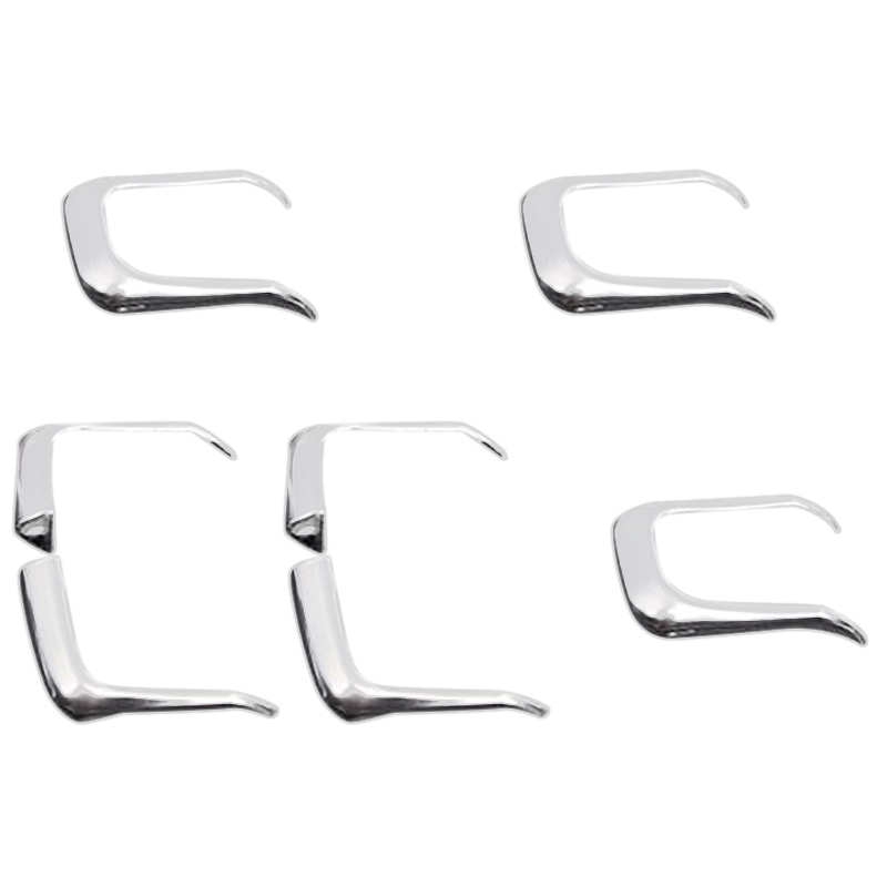 Car Styling Cover Trim Window Lift Button Switch Sequin Interior Strips Abs Sticker For Audi A3 A4 Q3 Q5 Decoration Accessories
