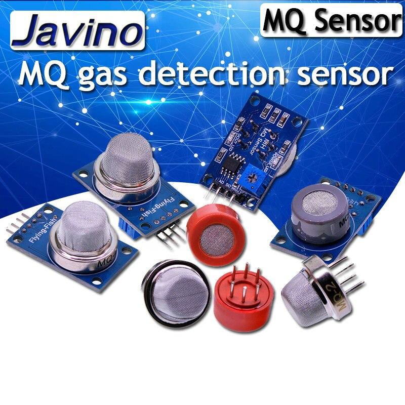 MQ-2 MQ-3 MQ-4 MQ-5 MQ-6 MQ-7 MQ-8 MQ-9 MQ-135 детектор дыма метана сжиженный газ Сенсор модуль для Arduino Starter DIY Kit
