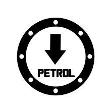 Car Sticker PETROL Fuel Automobiles Motorcycles  Exterior Accssories Vinyl Decal for BMW VW Audi Gti Skoda,13cm*13cm недорого