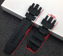 New Black Silicone Rubber WatchBand Set Kit For Invicta Subaqua Reserve Analog Diver Replacement Sport Wristband strap Men Watch