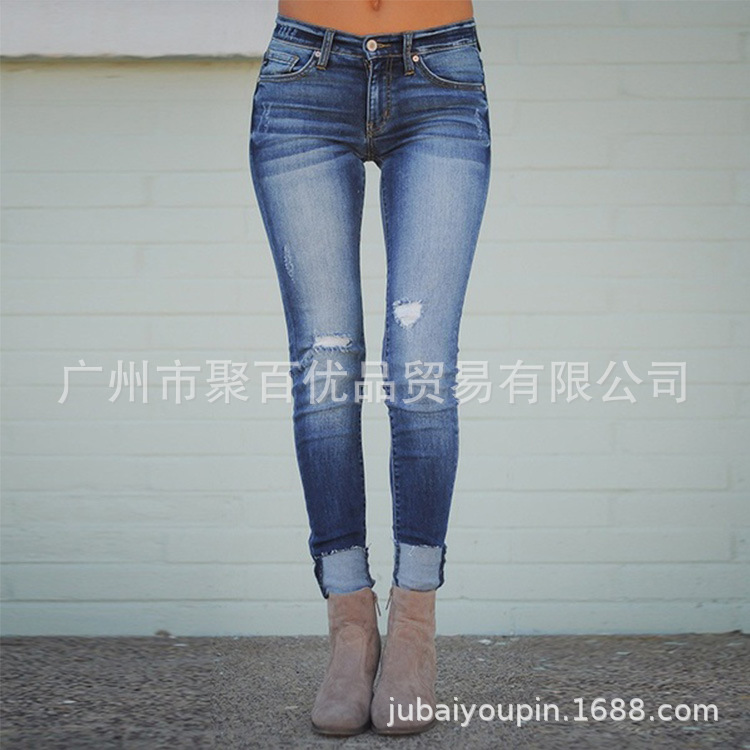 Hot Selling Hot Selling Jeans Women's Slim Fit Slimming Sexy WOMEN'S Pants