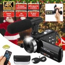 Professional 30MP 4K HD Camcorder Video Camera Night Vision