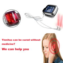 LASTEK Tinnitus Cure Ear Massage Otitis Treatment Laser Help Infections
