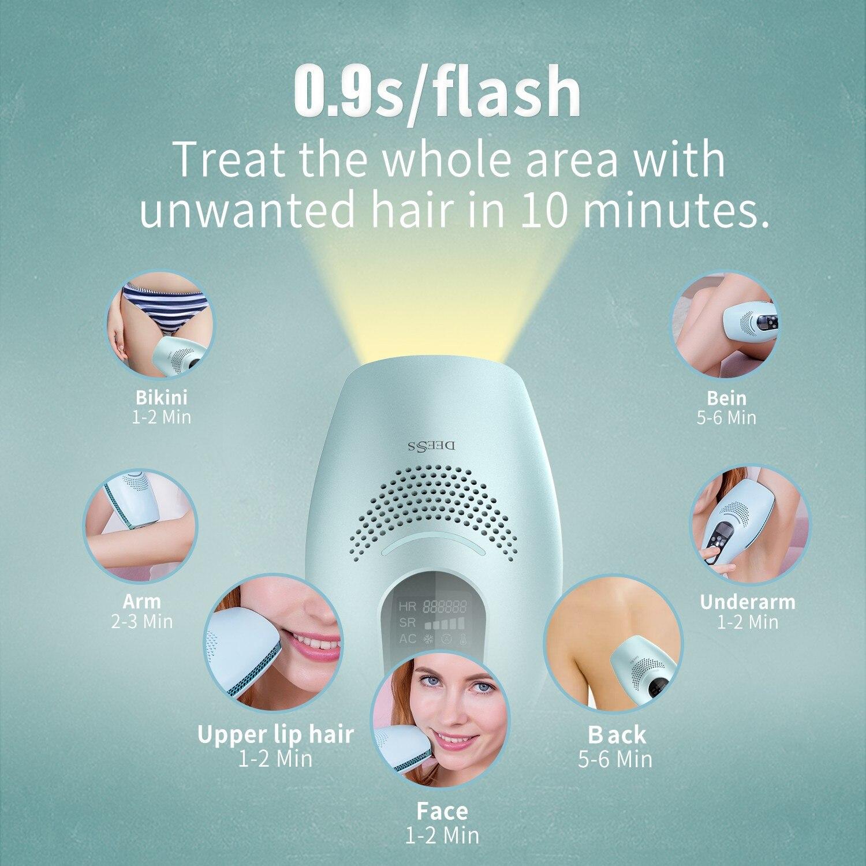 Deess laser remoção do cabelo a laser