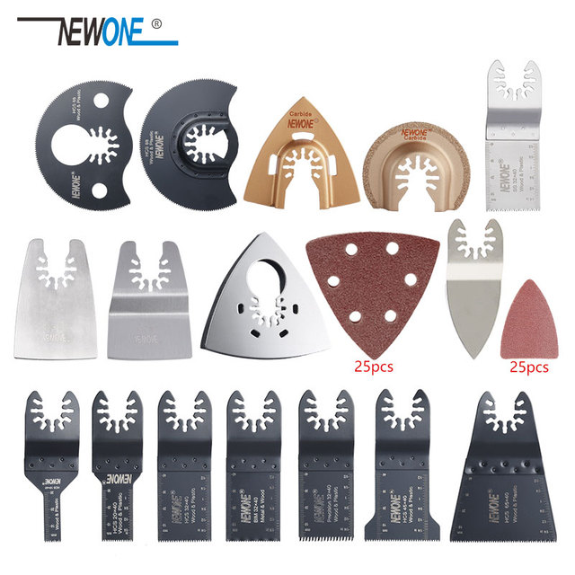 New 66 pcs quick change oscillating multi tool saw blade accessories,for FEIN power tool,metal cutting
