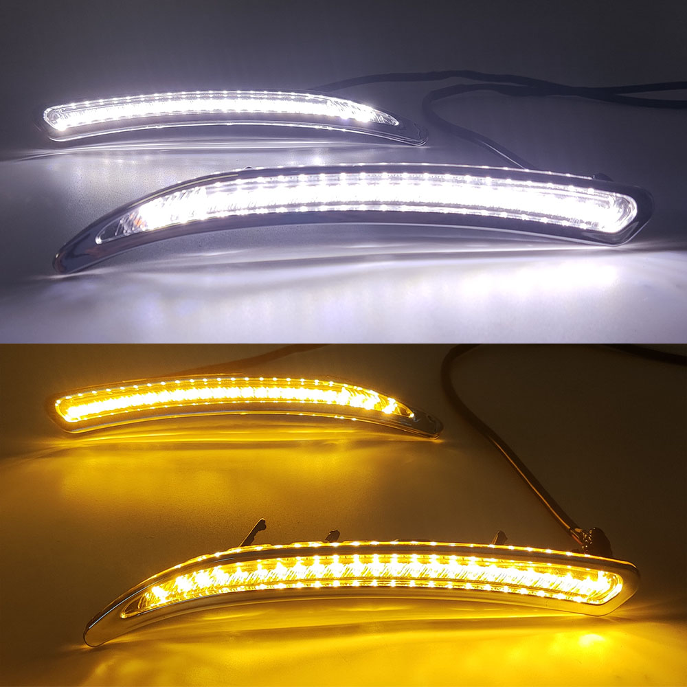 Car Flashing Led Daytime Running Lights For Buick Regal Gs Opel Insignia 2010 2011 2012 2013 2014 2015 2016 Fog Lamp Abs 12v Drl Aliexpress