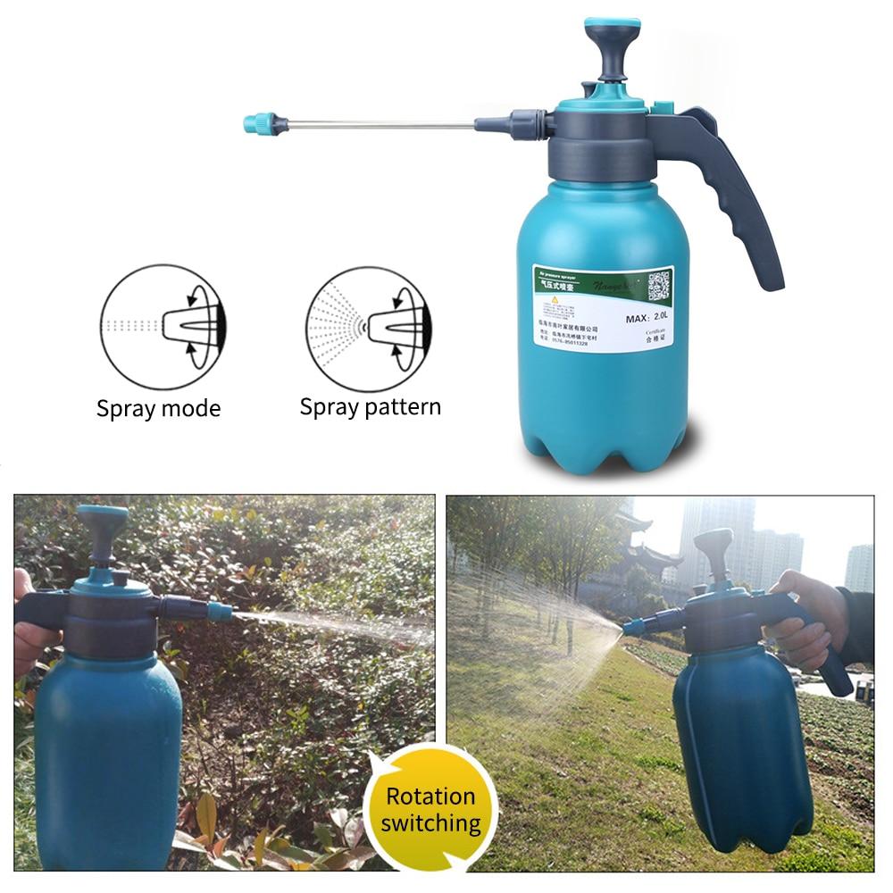 1.5L/2L Hand Pressure  Sprayer Bottle Garden Spray Bottle Plant Irrigation Watering Can Sprayer Adjustable Nozzle He*1-0