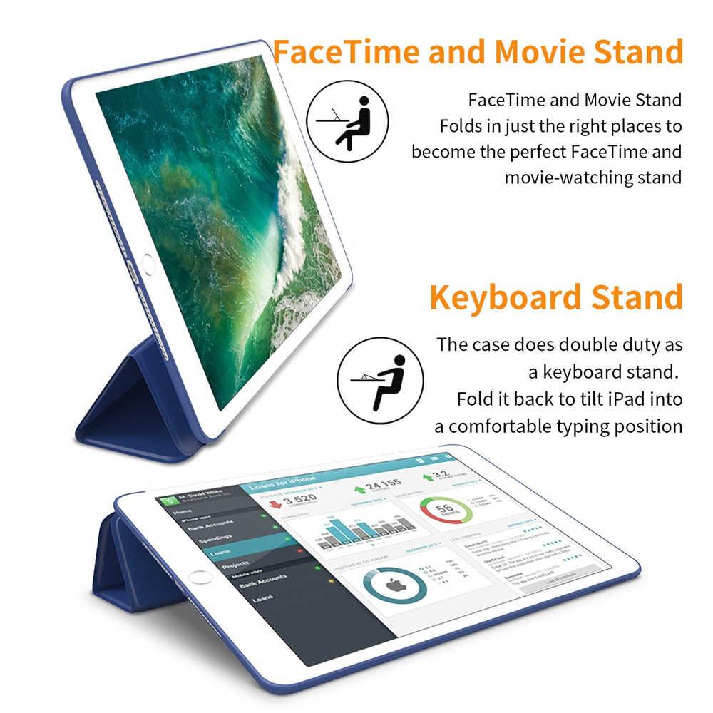สำหรับiPad 9.7นิ้ว2017/2018กรณีสำหรับiPad Air 2/3/4สำหรับMini 2/3/4/5สำหรับiPad 2/3/4สำหรับPro 9.7/10.5/11สำหรับiPad 10.2