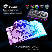 Vga-Cooler Water-Cooling-Block Gaming-Graphics-Card Bykski Asus Tuf RTX3090/3080 GPU