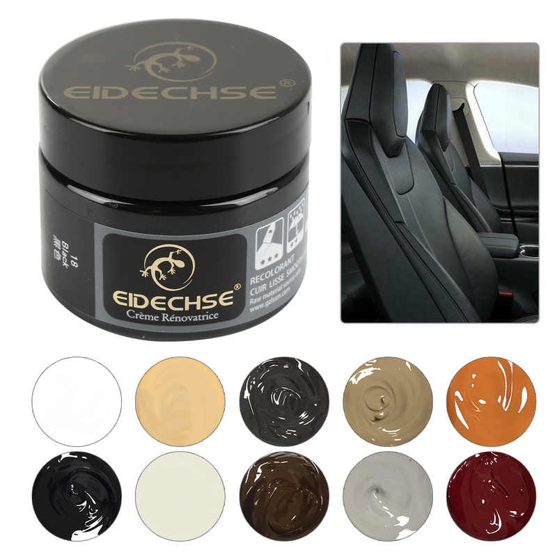Liquid Leather Repair Kit Auto Complementary Color Paste Car Seat Sofa Holes Scratch Cracks Rips Polish Paint Care Coating