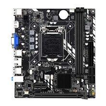 Материнская плата H61 LGA 1155 DDR3 ПАМЯТЬ 16 Гб Micro-ATX десктопная материнская плата для LGA1155 Socket Intel Core I3 I5 I7 ЦП Xeon