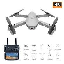 Novo e68 mini drone profissional gps wifi 4k com câmera fpv dron altura modo de espera dobrável rc quadrotor criança brinquedo presente