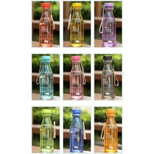 Пластиковая Спортивная бутылка для воды небьющаяся матовая герметичная пластиковая бутылка для воды без бисфенола портативная бутылка для воды для путешествий и занятий йогой