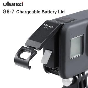 Image 1 - Ulanzi G8 7 Gopro 8 배터리 커버 분리형 배터리 뚜껑 Type C Gopro Hero 8 용 충전 포트