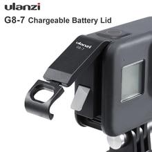 Ulanzi G8 7 Gopro 8 couvercle de batterie couvercle de batterie détachable type c Port de charge pour accessoires Gopro Hero 8