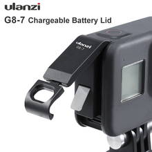 Ulanzi G8 7 Gopro 8 pokrywa baterii zdejmowana pokrywa baterii typ C Port ładowania dla Gopro Hero 8 akcesoria