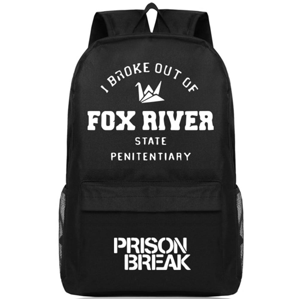 Sac à bandoulière MeanCat Opera Prison Break sac à dos rivière renard