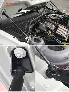 Image 2 - Para volkswagen vw T ROC 2017 2018 2019 2020 capa dianteira do carro motor capa hidráulica haste strut mola barra de choque suporte estilo do carro
