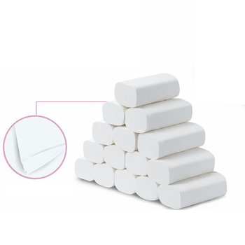 Household Toilet Paper Affordable Coreless Paper Wood Pulp Tissue Roll Paper Toilet Roll Paper 10 Rolls sumerian vistas paper