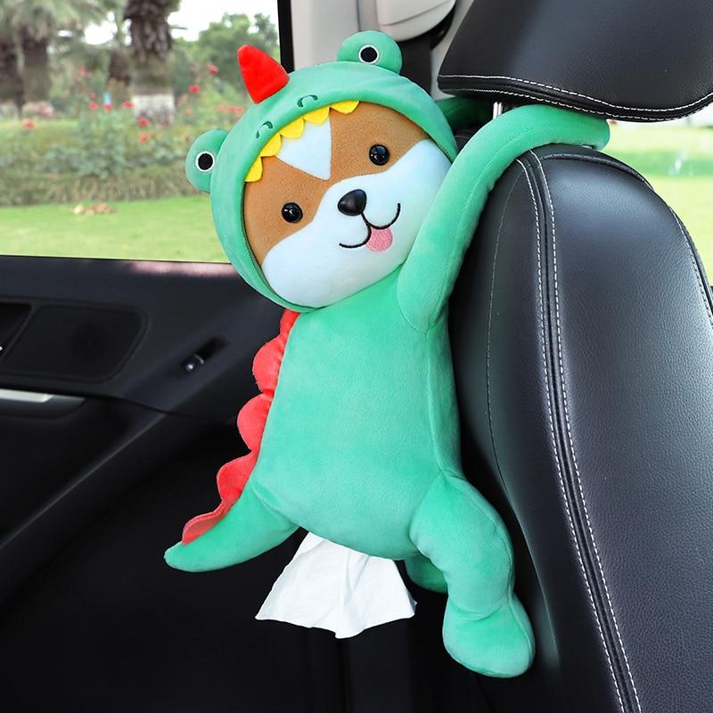 Cute Stuffed Animals Car Tissue Holder 11