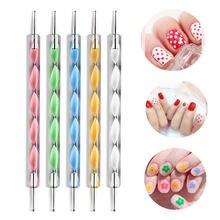 5 шт инструменты для дизайна ногтей точечная ручка разразразы