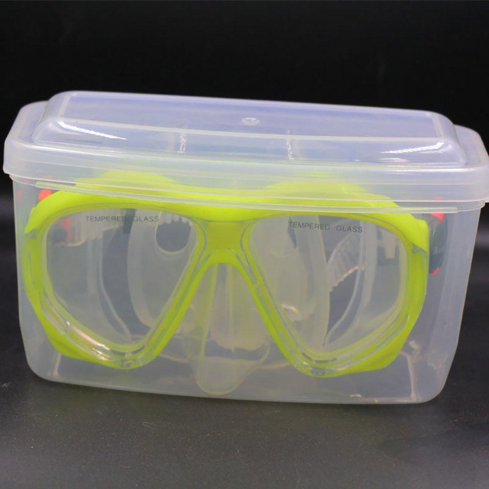Diving Lens Box B53 Snorkeling Surface Lens Storage Box Swimming Goggles Plastic Box Snorkeling Equipment For General Purpose