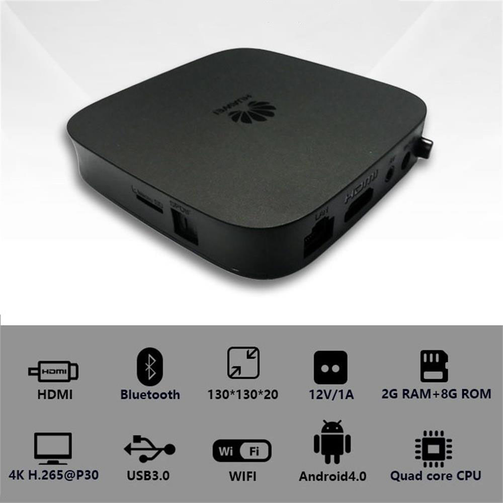 Original Hua Wei EC 6108V9 Mi Ni Set Top Box Quad Core Support 4K UHD HDMI Google Mall Iptv Bluetooth WiFi STB FOR OnwPlus TV Q1