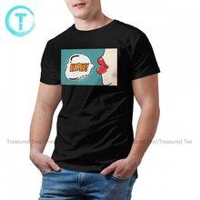 Comics T Hemd Männer Casual Baumwolle Gedruckt T Shirt Kurzarm Strand T-Shirt 4xl