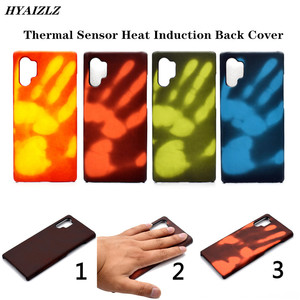S20 Ultra Funny Phone Cases for Galaxy A51 A71 A80 A90 A91 Note 10+ S10 S9 Plus A20 A50 Thermal Sensor Heat Induction Back Cover